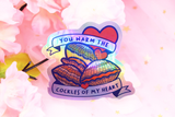 You Warm The Cockles Of My Heart Sticker