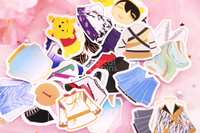 Yuzu Costume Sticker Pack (30+ pcs)