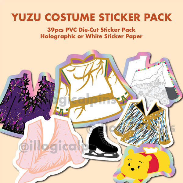 Yuzu Costume Sticker Pack