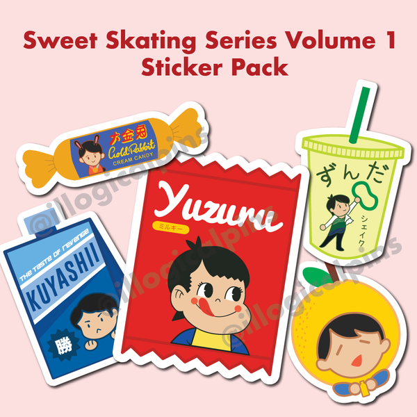 Sweet Skating Series Volume 1 Sticker Pack