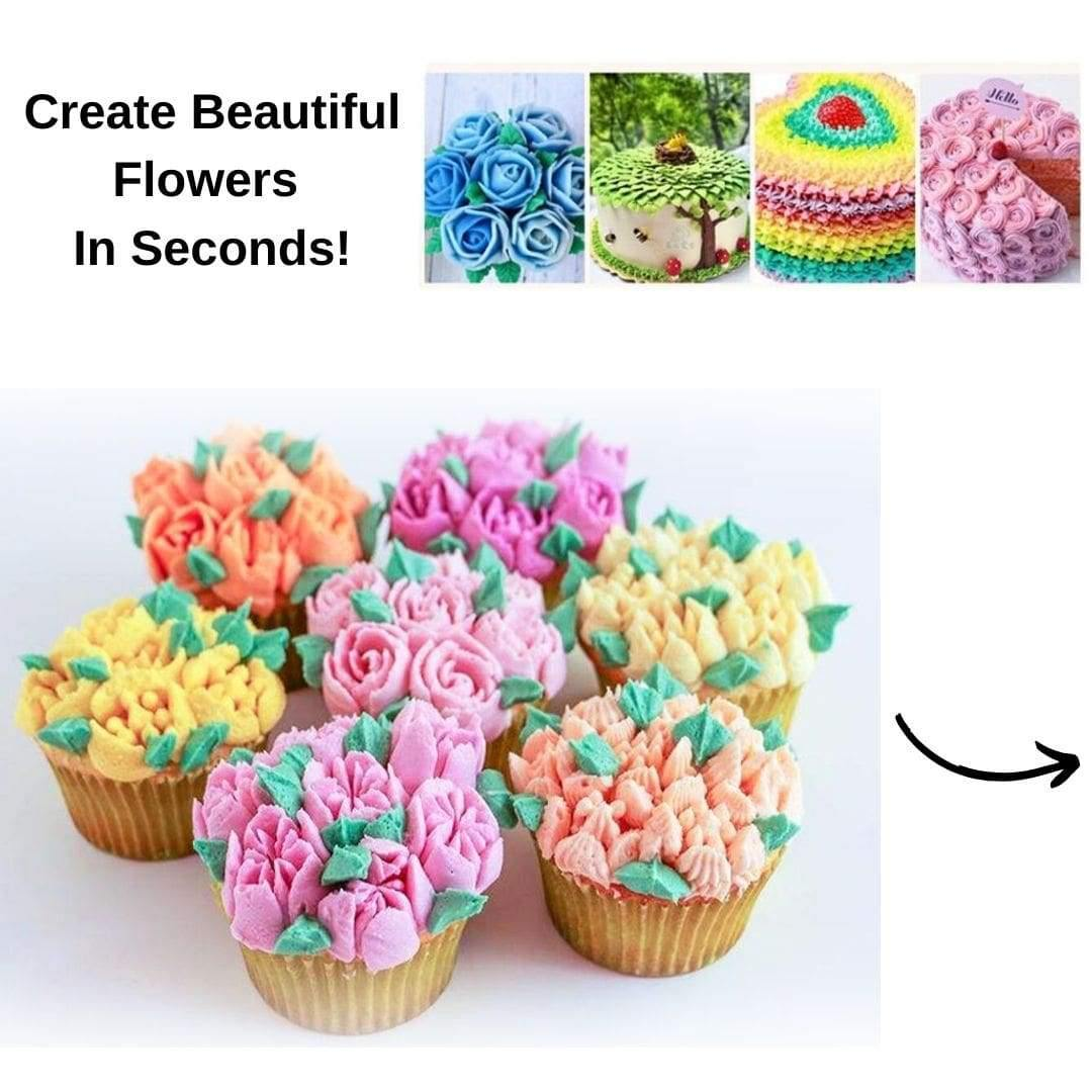 Beautiful Flower Frosting Nozzles Design