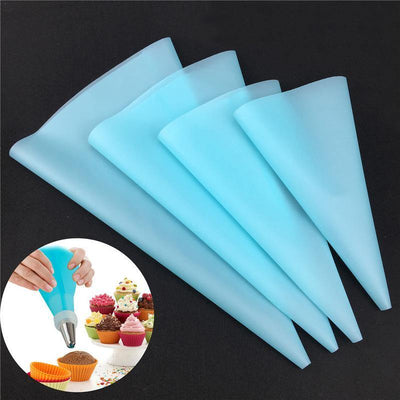 Silicone Piping Bags (4 pieces)
