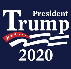President Trump 2020 Blue Long Sleeve