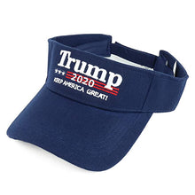 Load image into Gallery viewer, Trump 2020 Make America Great Again Visor