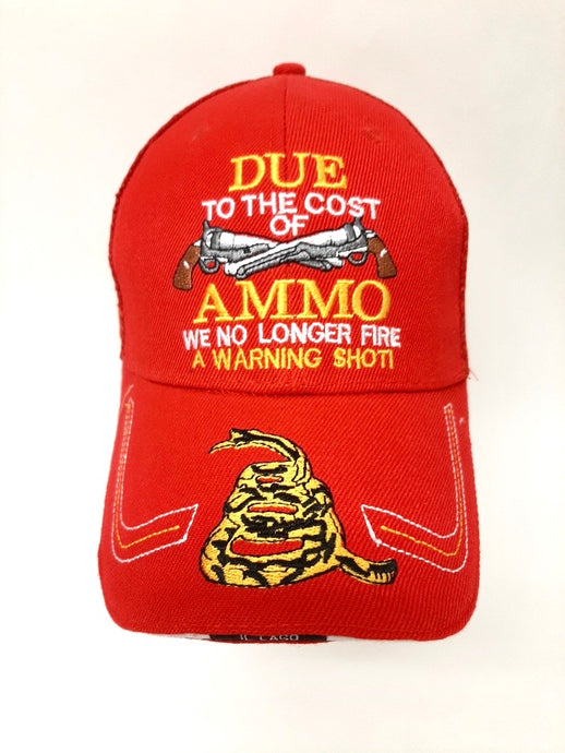 Due to the cost of Ammo.. Hat