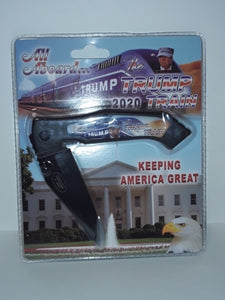 All Aboard The Trump Train Pocket Knife