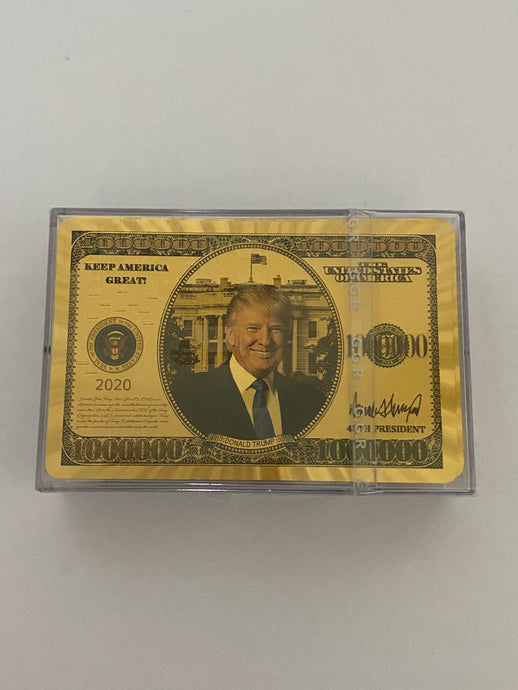 President Trump Playing Cards