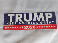 Load image into Gallery viewer, Trump 2020 Bumper Stickers