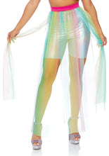 Load image into Gallery viewer, Multicolor Mary Multi Slit Sheer Skirt