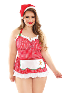 Red Baked with Love Holiday Costume Set