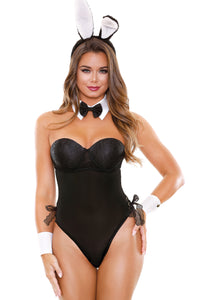 Black Honey Bunny Costume Set