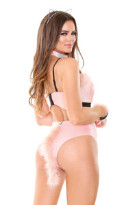 Blush Pink Purrfect Pussycat Costume Set