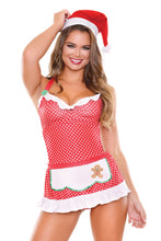 Load image into Gallery viewer, Red Baked with Love Holiday Costume Set