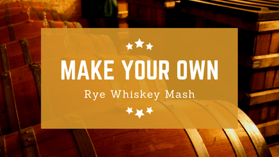 Rye Whiskey Mash Recipe