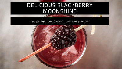 Delicious Blackberry Moonshine