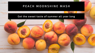 Peach Moonshine Mash
