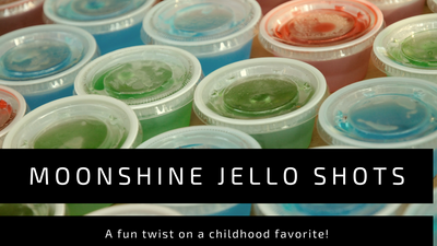 Moonshine Jello Shots: a Fun Twist on a Childhood Favorite