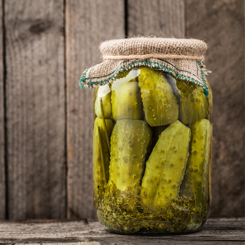 Moonshine Dill Pickles