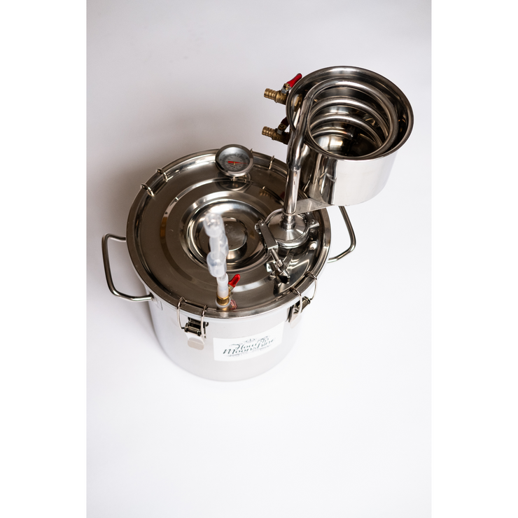 Appalachian - Easiest to Use Complete Stove Top Moonshine Still Kit