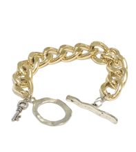 Load image into Gallery viewer, Gold Chunky Chain Bracelet