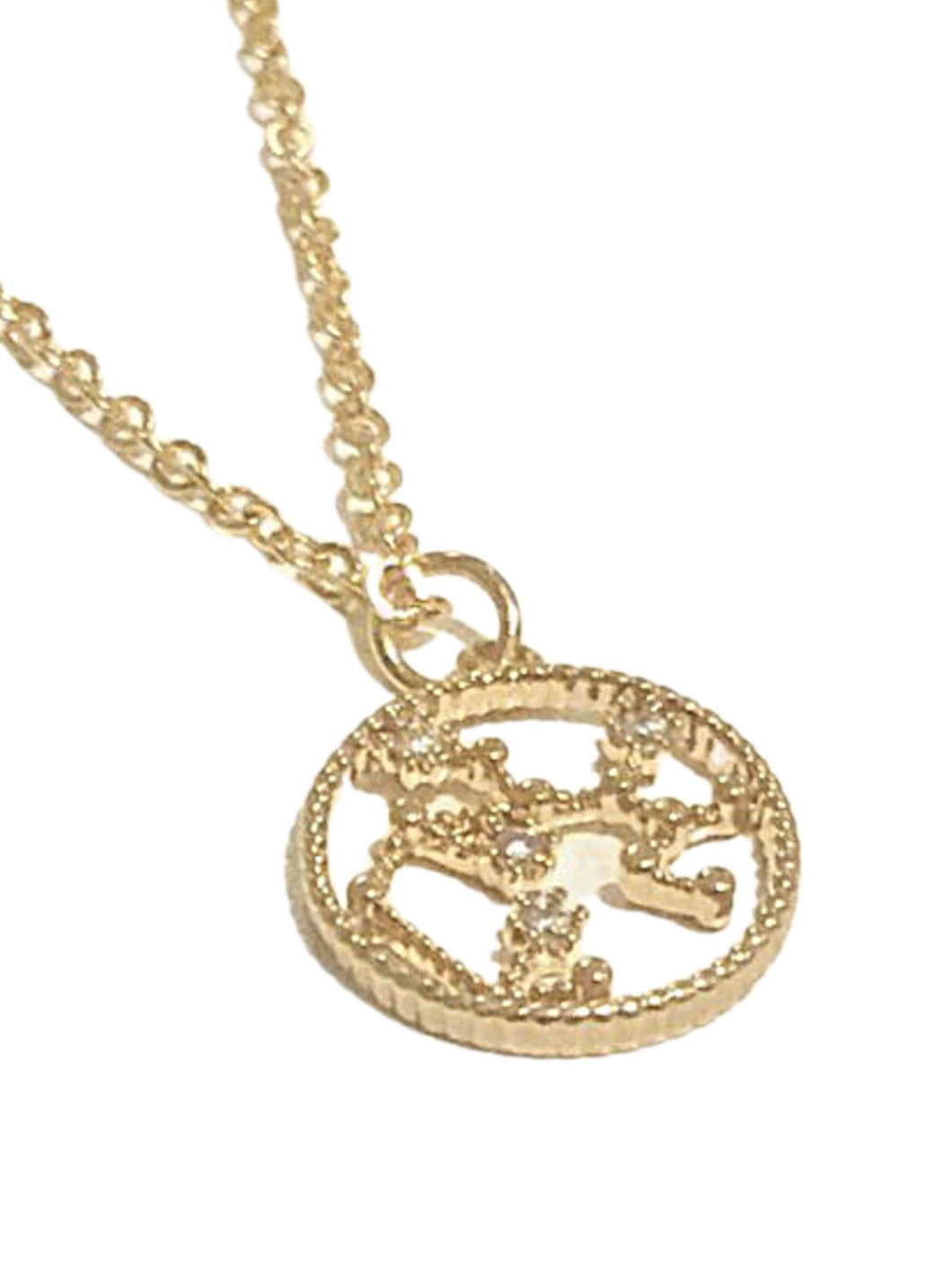 Gold Zodiac RING Necklace