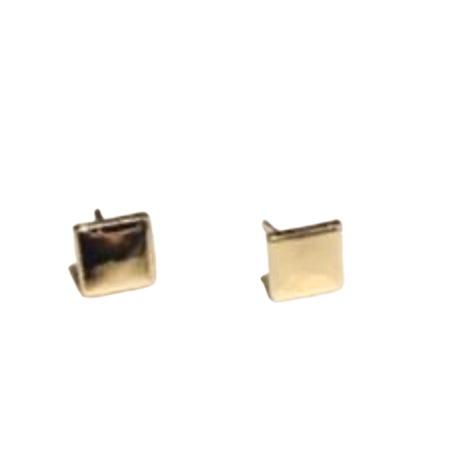Square Up Stud Earrings
