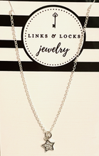 Load image into Gallery viewer, *Mini CZ Star Necklace - Sterling Silver