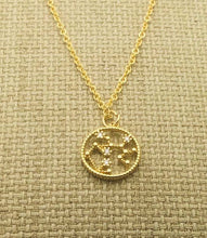 Load image into Gallery viewer, Gold Zodiac RING Necklace