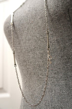 Load image into Gallery viewer, Long Silver Link Necklace ...Made in Canada