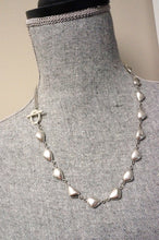 Load image into Gallery viewer, Silver Pebble Necklace ~ Short