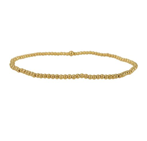 14kt Gold Filled Mini Ball 2mm Stretch Bracelet SOLD OUT