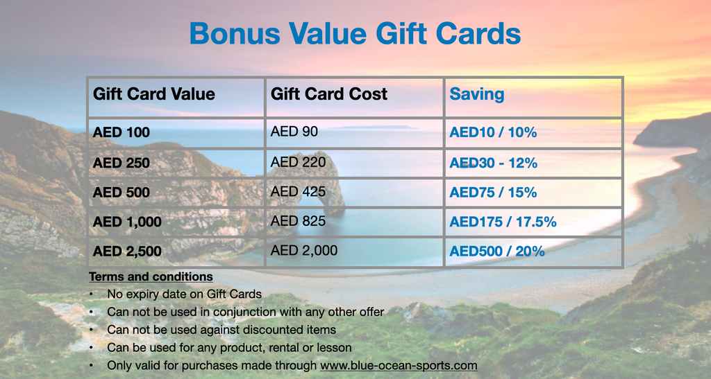 Product Discount Offers Gift Cards
