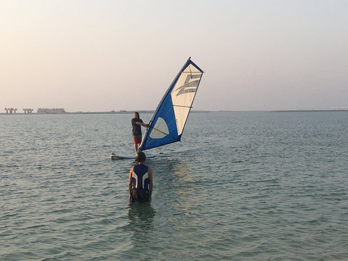 Windsurfing Lesson - Full RYA Course - Blue Ocean Sports