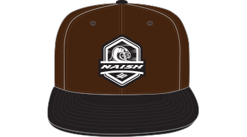 Naish Wave Patch Snapback Cap-Brown