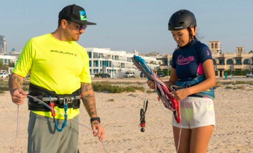 Kitesurf Lesson Surf Strapless Private 1 to 1