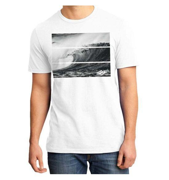 Naish Tribal Wave T-Shirt - White