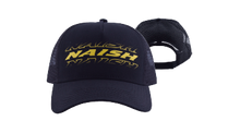 Load image into Gallery viewer, Naish Black Trucker Hat Mk 2