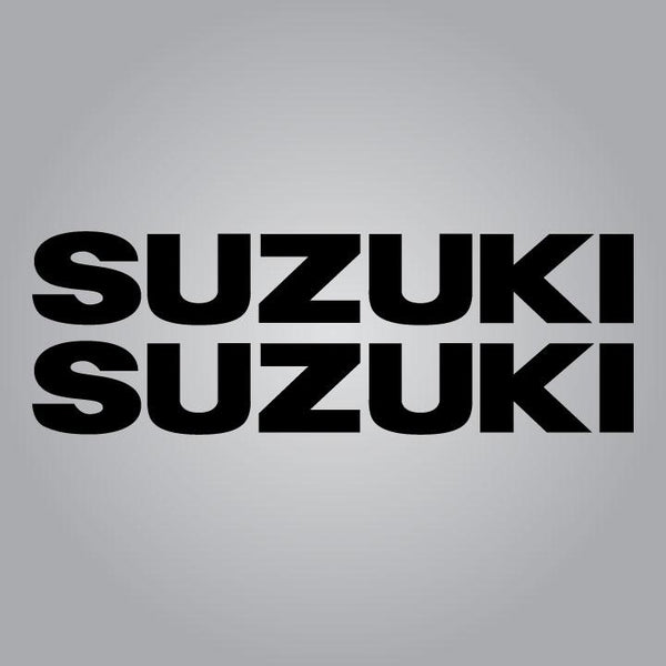 1976-1977 Suzuki RM and PE Tank Decal Set