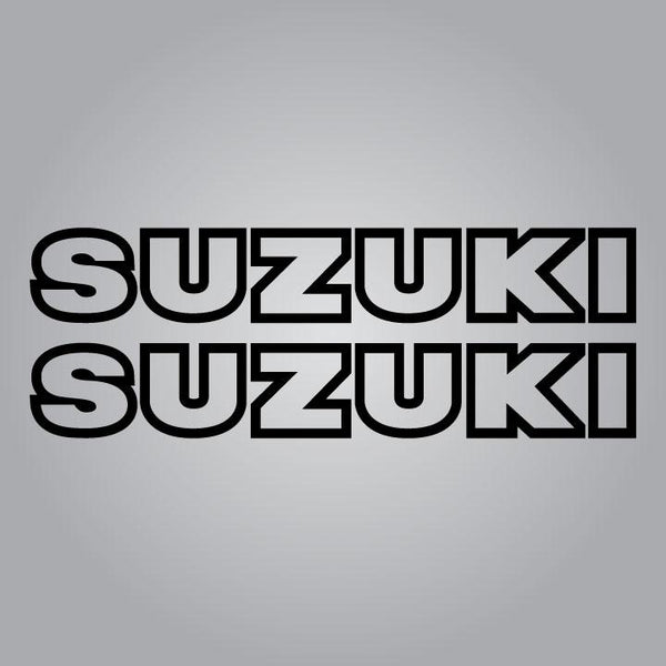 1978-1978.5 RM C and C2 Suzuki Tank Decal Set
