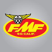 FMF Al Baker Racing and Development Decal - 2.25""