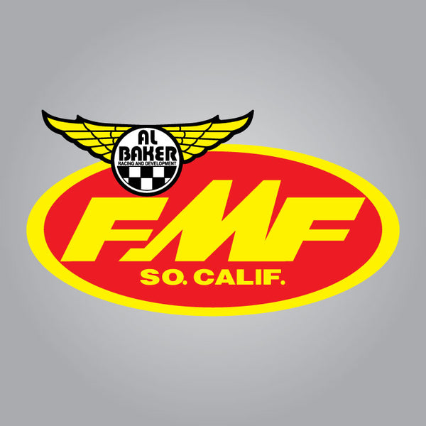 FMF Al Baker Racing and Development Decal - 5""