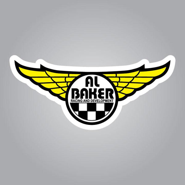 Al Baker Racing and Development Decal - 2.5""