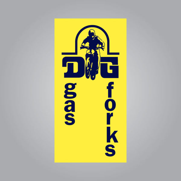 DG Gas Forks Fork Leg Decal Set