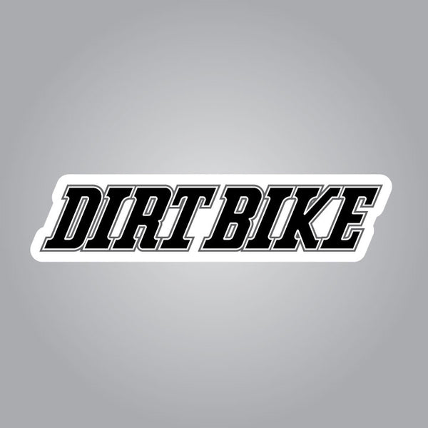 Dirt Bike Magazine Decals
