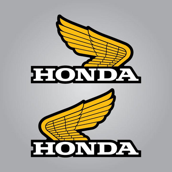 Honda Elsinore Tank Decals Set - 4.5""