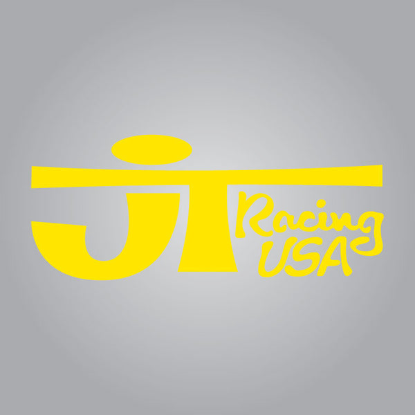JT Racing Decal - Yellow
