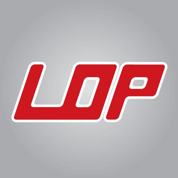 LOP Logo Die Cut Decal