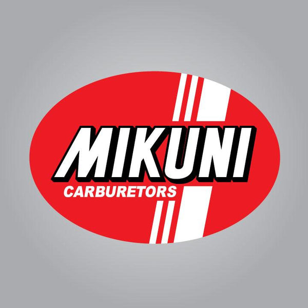 Mikuni Carburetors Decal - Red