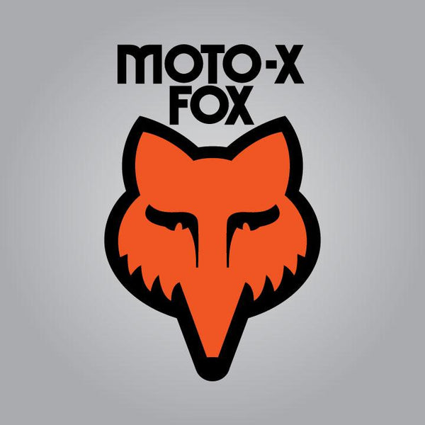 Moto-X Fox Head Decal
