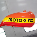 Moto-X Fox Tank Decal Set - 11.5""